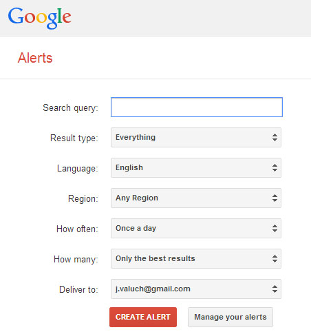 g alerts